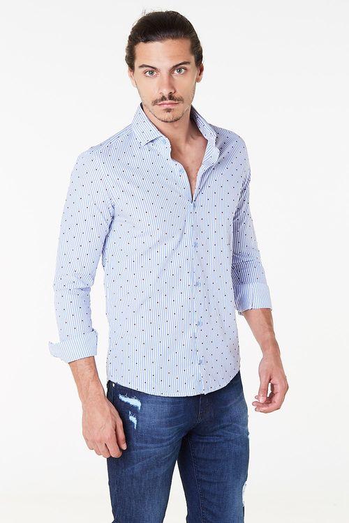 Camisa Artini Celeste
