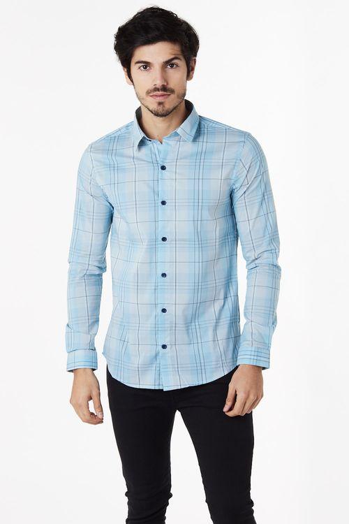Camisa Aport Azul