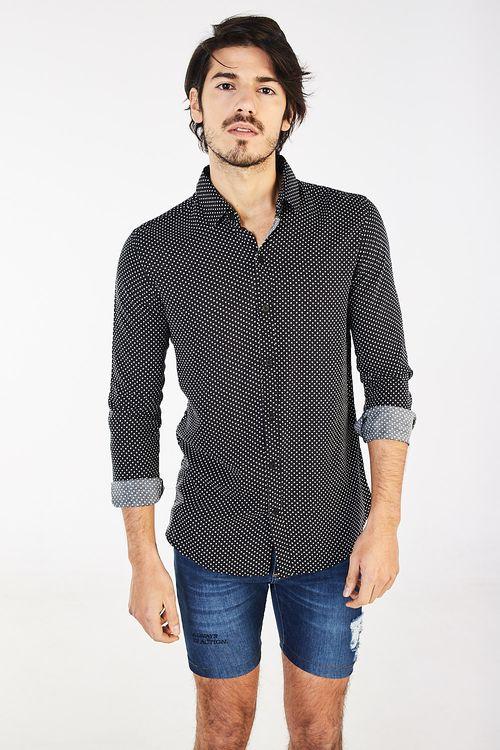 Camisa Aite Negro
