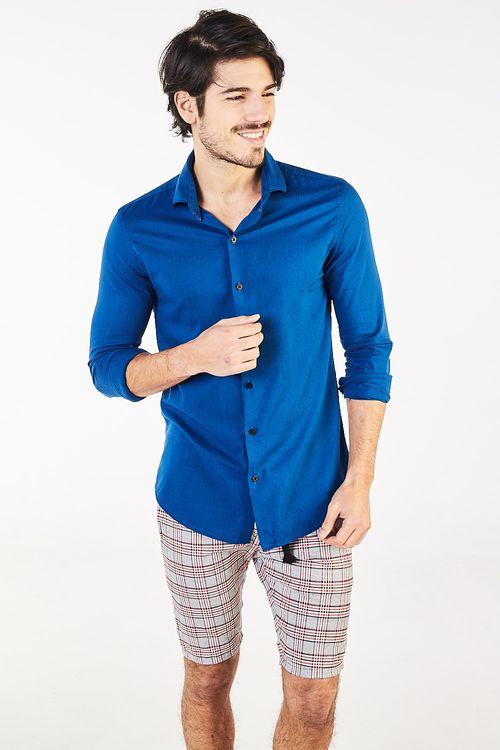Camisa Atil Azul
