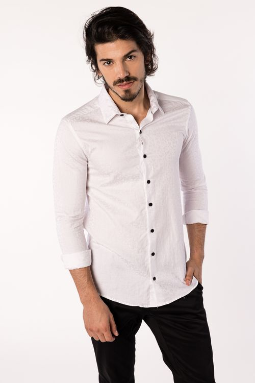Camisa Ackard Blanco