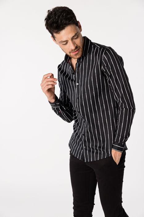 Camisa Atenay Negro