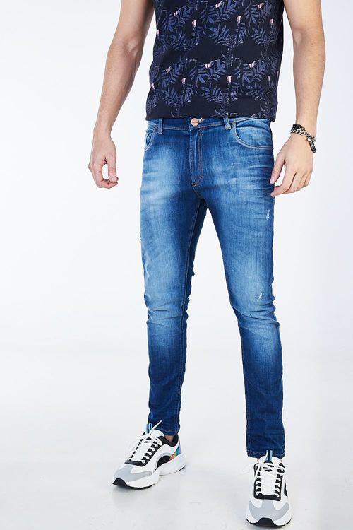 Jean Regular Traxu Azul