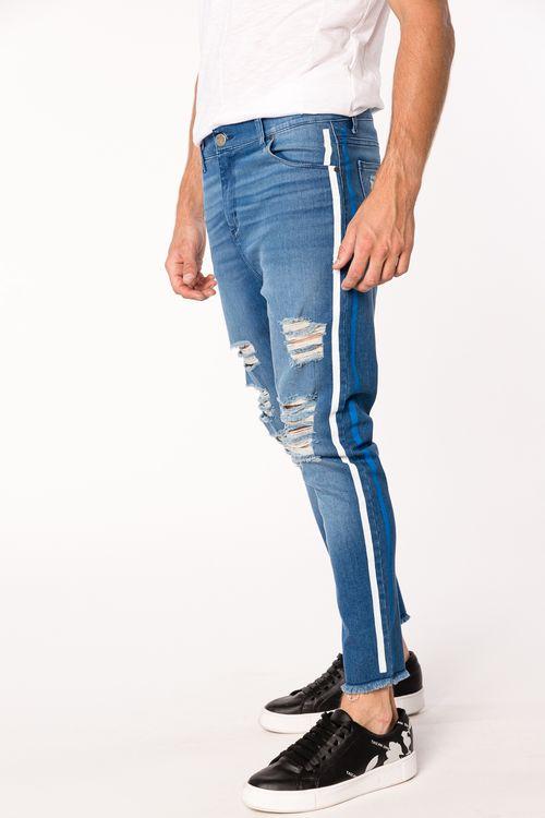 Jean Skinny Troel Azul Medio