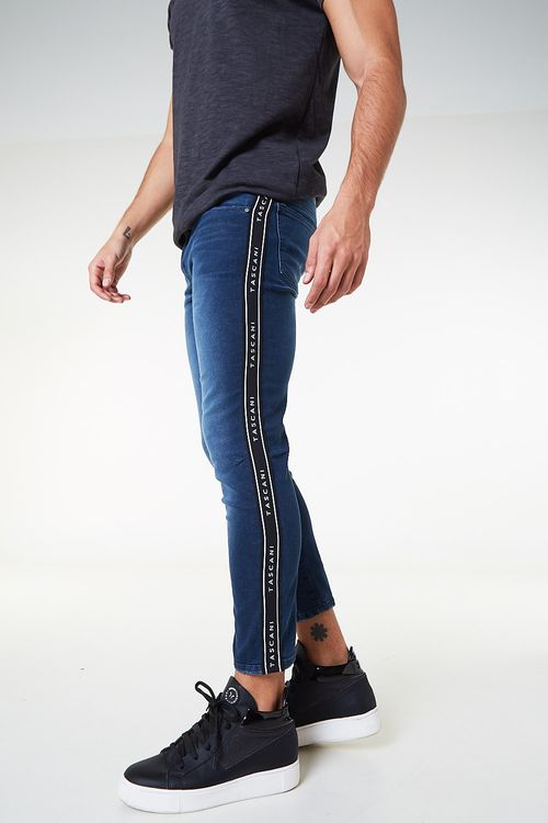 Jean Skinny Trome Azul