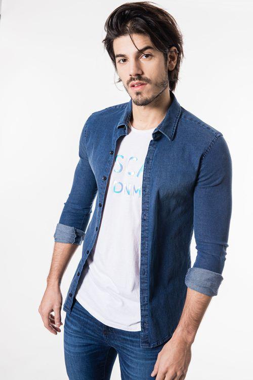 Camisa Amuette Azul