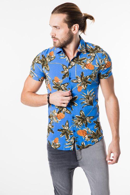 Camisa Olifor Azul