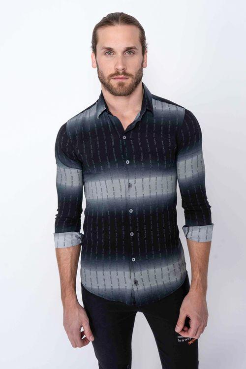 Camisa Amerina Negro