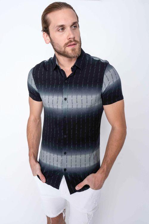 Camisa Omerina Negro