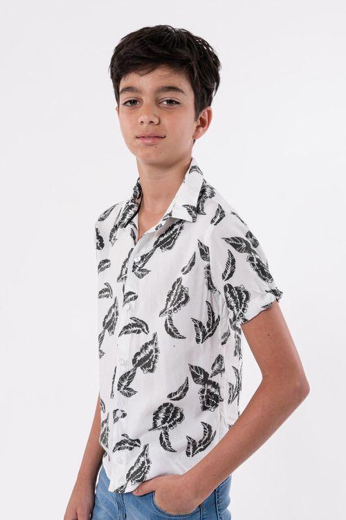 Camisa Y-Omerina Blanco