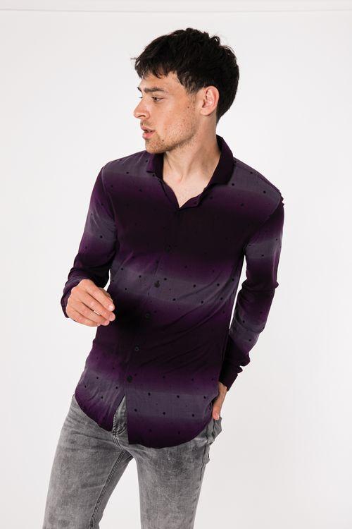 Camisa Azalin Violeta