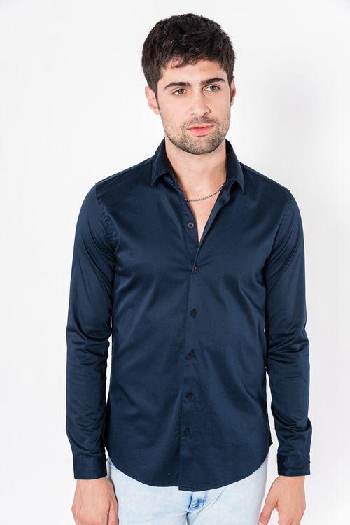 Camisa Ml Arenta Azul