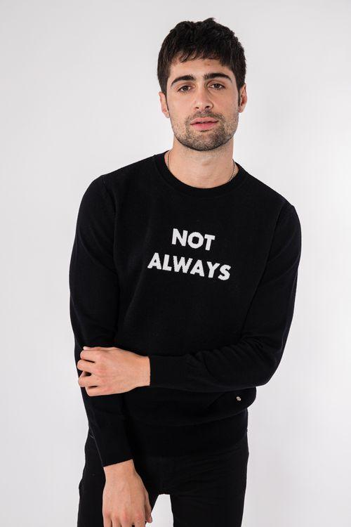 Sweater Dontex Negro