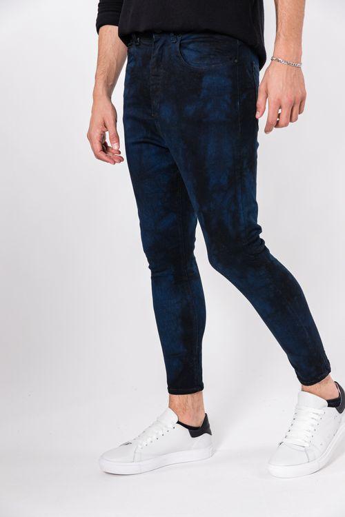 Jean Skinny Tuker Azul Medio