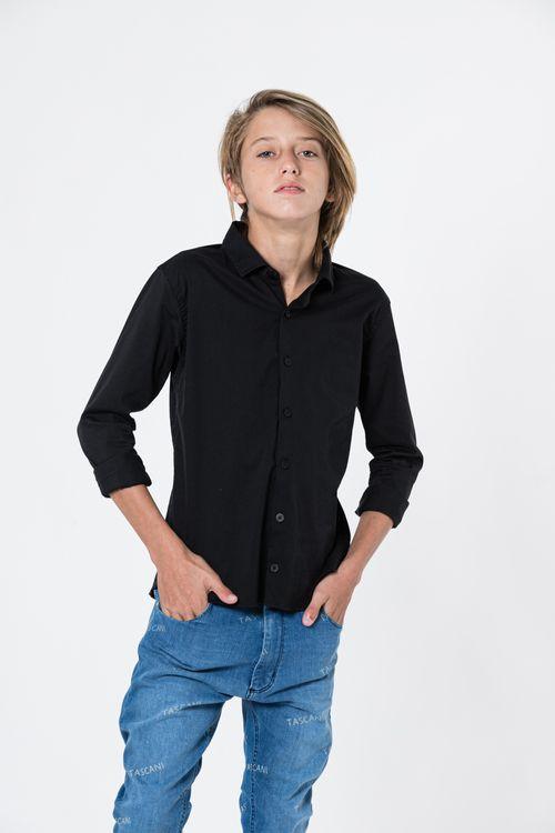 Camisa Y-Adora Negro