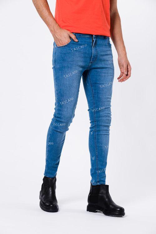 Jean Skinny Tascan Azul Medio