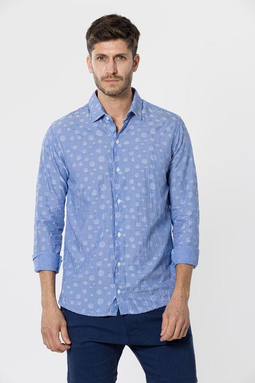 Camisa Ml Alula Azul