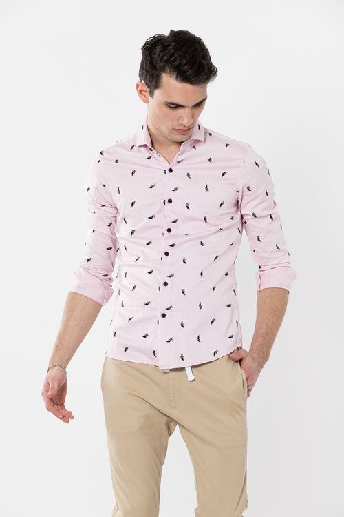 Camisa Ml Ablex Rosa