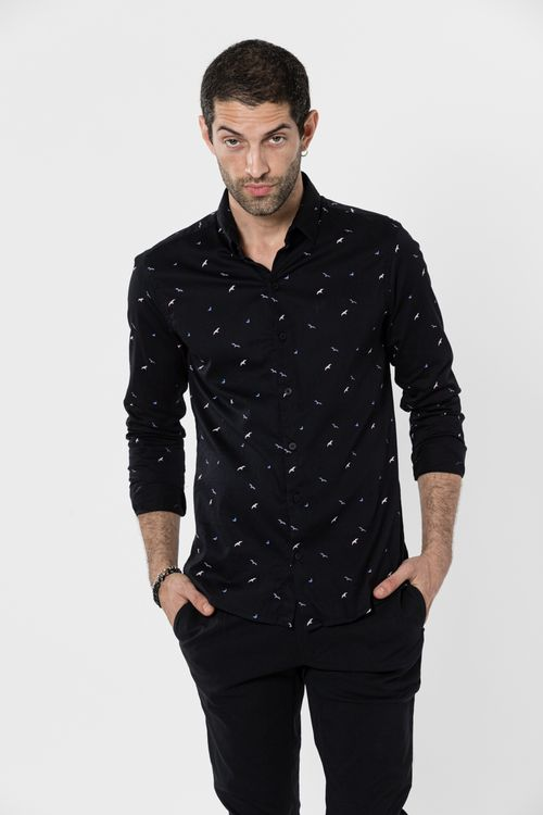 Camisa Asloom Negro