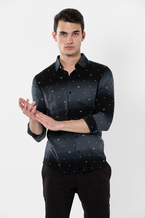 Camisa Ml Axil Negro