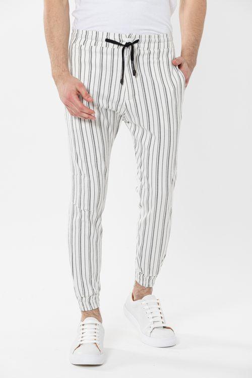 Pantalon Piggy Blanco